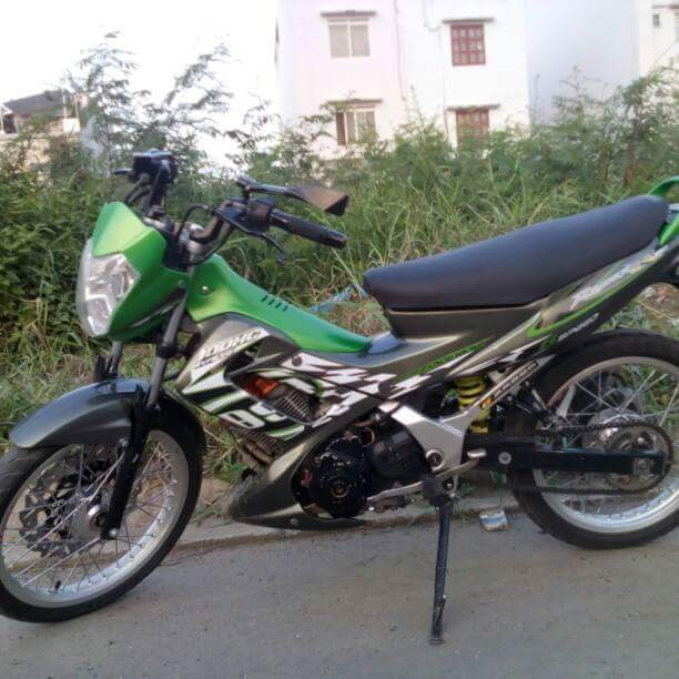 Chiec Suzuki FXR150 do full raider thai