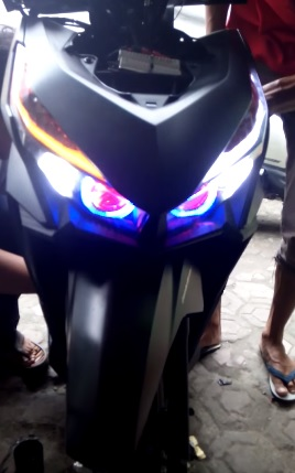 Clip Honda Vario 150 do den led doc dao - 2