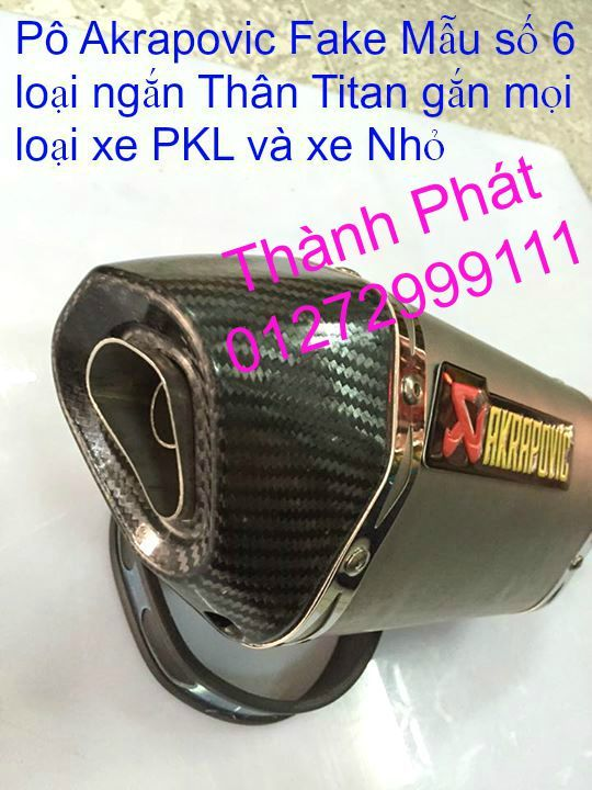 Po do Po kieu Co po 7 khuc AHM Akrapovic Yoshimura SC Project 2 Brother MIVV YYPANG Leov - 42