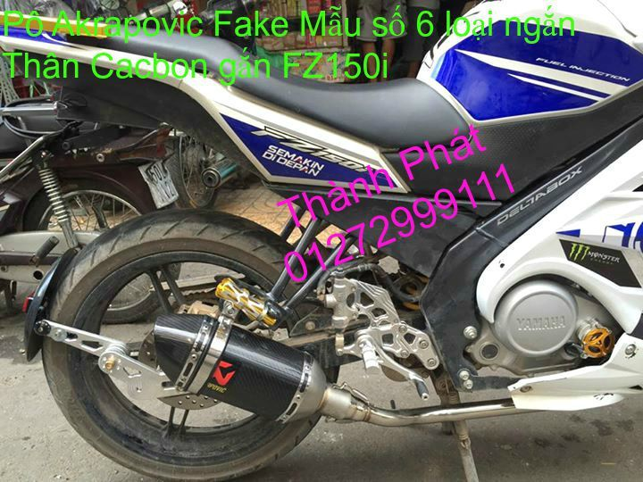 Po do Po kieu Co po 7 khuc AHM Akrapovic Yoshimura SC Project 2 Brother MIVV YYPANG Leov - 47