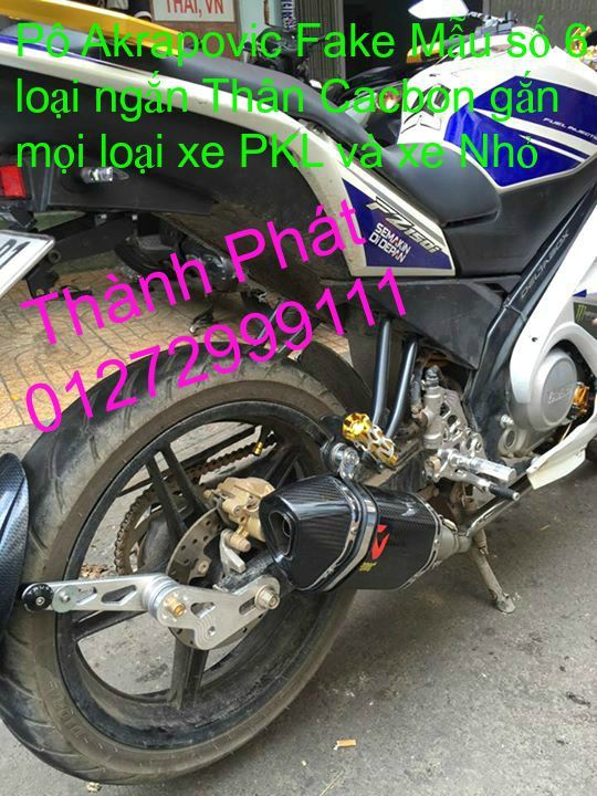 Po do Po kieu Co po 7 khuc AHM Akrapovic Yoshimura SC Project 2 Brother MIVV YYPANG Leov - 48