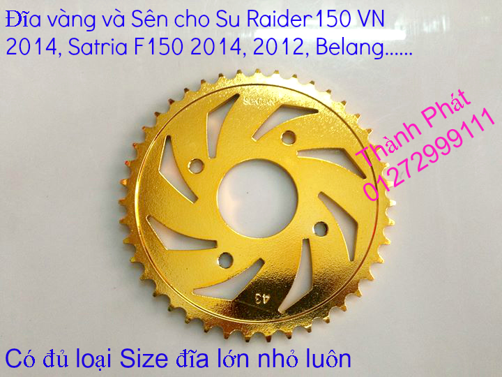 Do choi cho Raider 150 VN Satria F150 tu AZ Up 992015 - 9