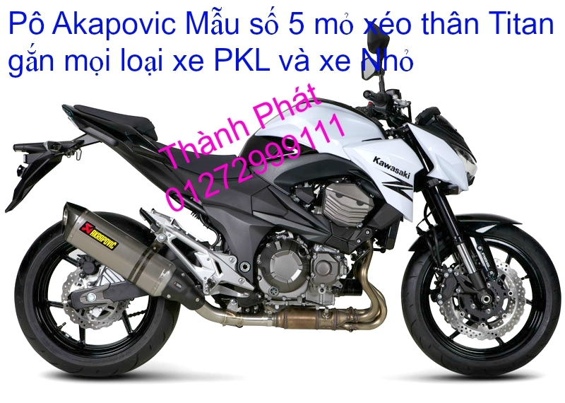 Po do Po kieu Co po 7 khuc AHM Akrapovic Yoshimura SC Project 2 Brother MIVV YYPANG Leov - 29