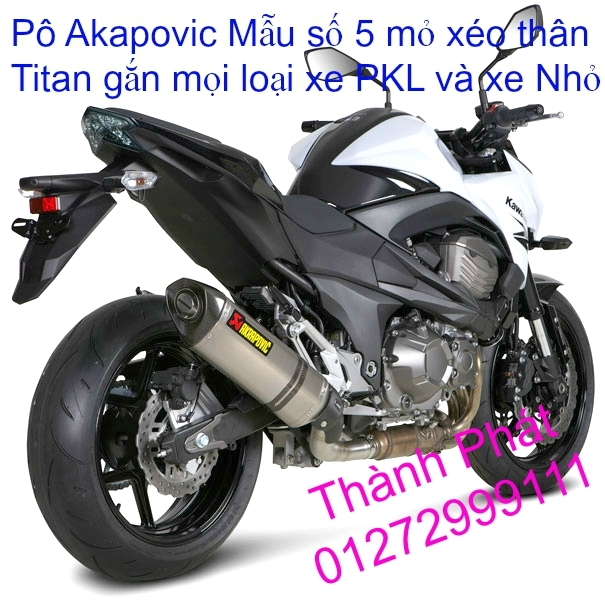 Po do Po kieu Co po 7 khuc AHM Akrapovic Yoshimura SC Project 2 Brother MIVV YYPANG Leov - 30