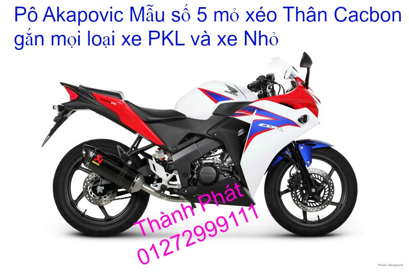 Po do Po kieu Co po 7 khuc AHM Akrapovic Yoshimura SC Project 2 Brother MIVV YYPANG Leov - 34