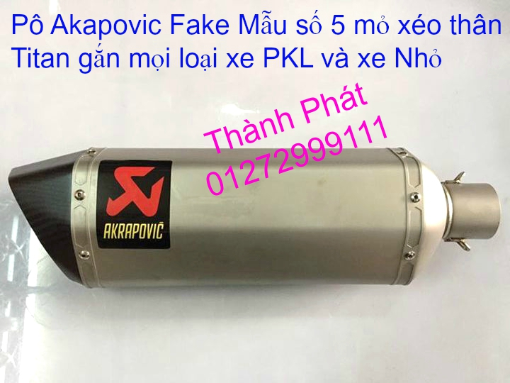 Po do Po kieu Co po 7 khuc AHM Akrapovic Yoshimura SC Project 2 Brother MIVV YYPANG Leov - 26