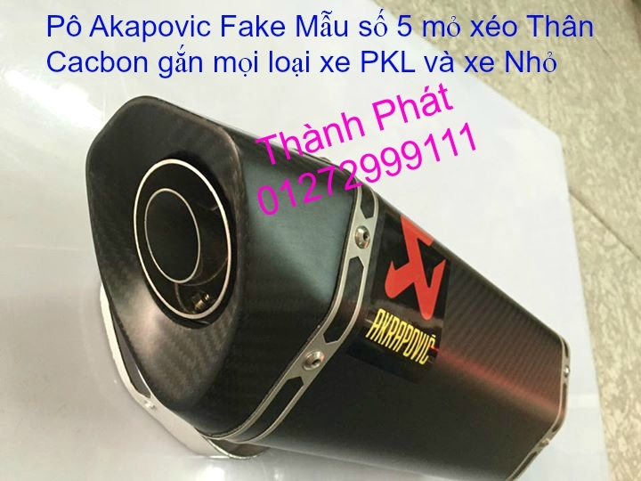 Po do Po kieu Co po 7 khuc AHM Akrapovic Yoshimura SC Project 2 Brother MIVV YYPANG Leov - 33