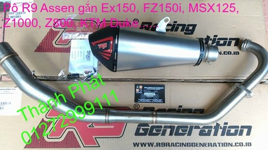 Po do Po kieu Co po 7 khuc AHM Akrapovic Yoshimura SC Project 2 Brother MIVV YYPANG Leov - 17