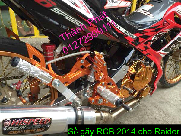 Do choi cho Raider 150 VN Satria F150 tu AZ Up 992015 - 6