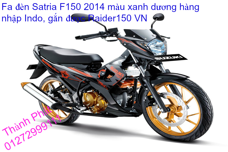 Do choi cho Raider 150 VN Satria F150 tu AZ Up 992015 - 7