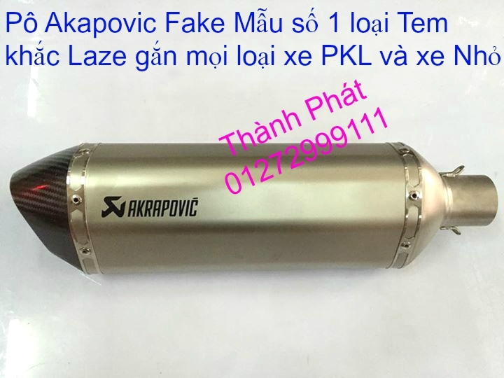 Po do Po kieu Co po 7 khuc AHM Akrapovic Yoshimura SC Project 2 Brother MIVV YYPANG Leov - 22