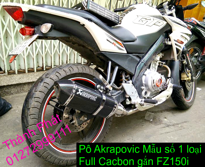 Po do Po kieu Co po 7 khuc AHM Akrapovic Yoshimura SC Project 2 Brother MIVV YYPANG Leov - 46