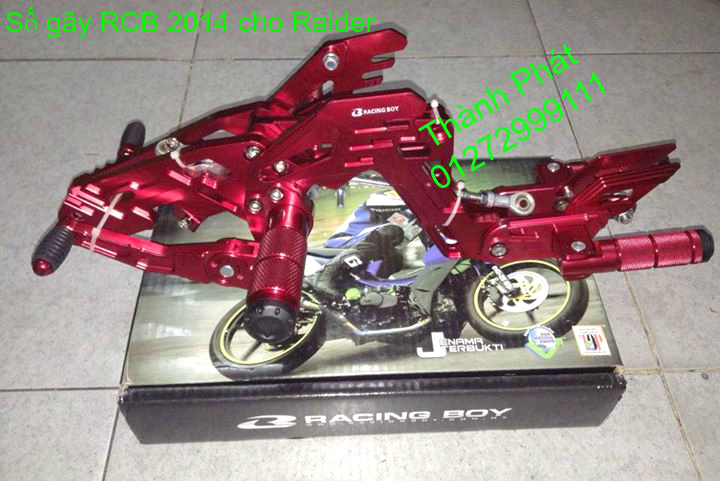Do choi cho Raider 150 VN Satria F150 tu AZ Up 992015