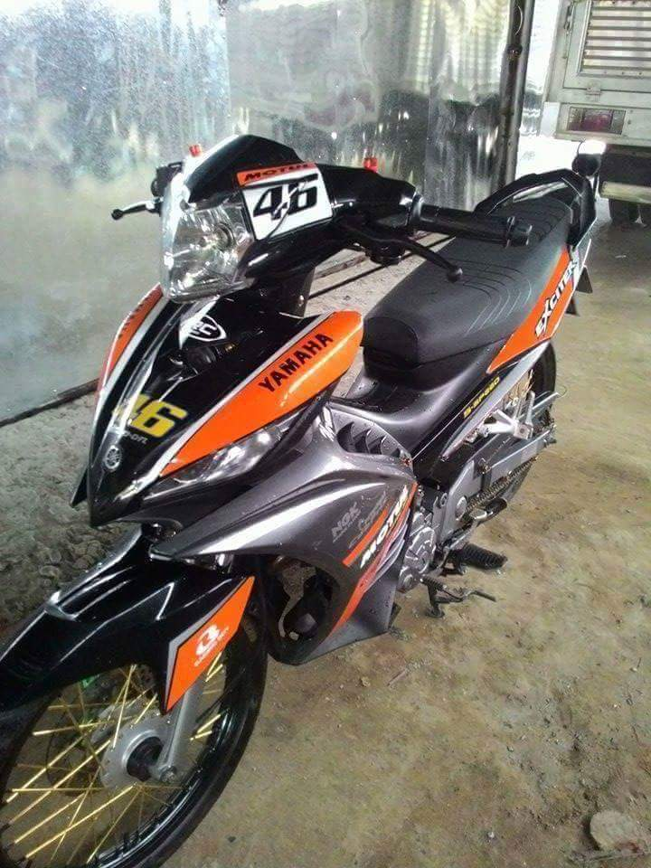 Exciter 135cc su tro lai mang phong cach 46 an tuong - 2