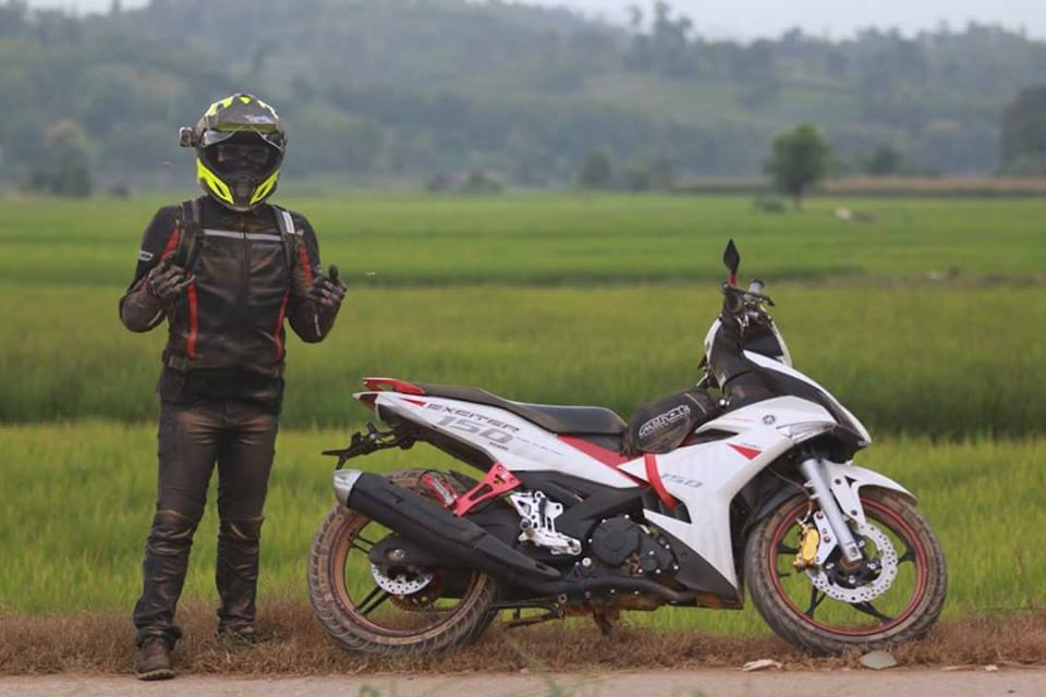 Exciter 150 Do voi nhung hinh anh di Tour - 4