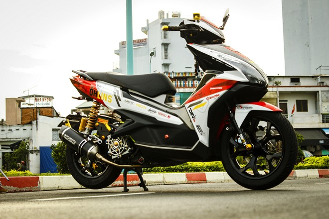 Honda Air Blade do noi bat o Sai Gon - 6