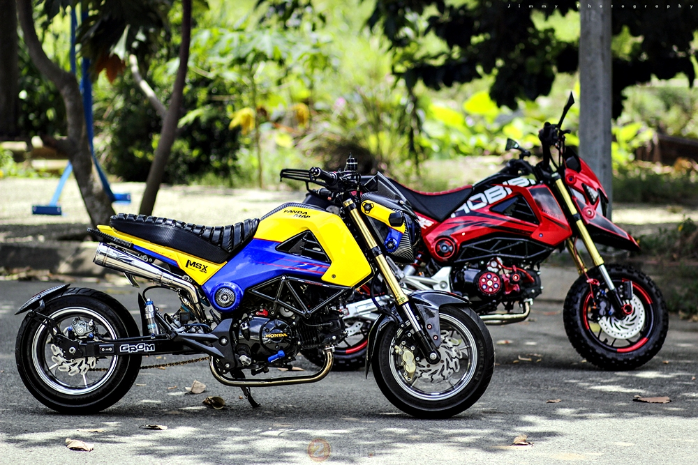 Honda MSX125 do chat voi dan do choi khung - 2