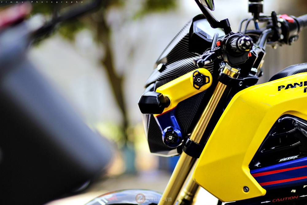 Honda MSX125 do chat voi dan do choi khung - 6