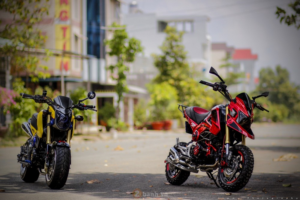 Honda MSX125 do chat voi dan do choi khung - 12