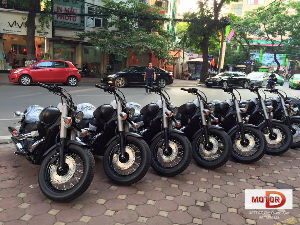 HONDA Shadow Phantom 750 2015 DUC QUANG NGAI