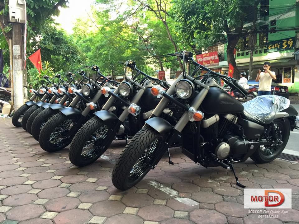 HONDA Shadow Phantom 750 2015 DUC QUANG NGAI - 11