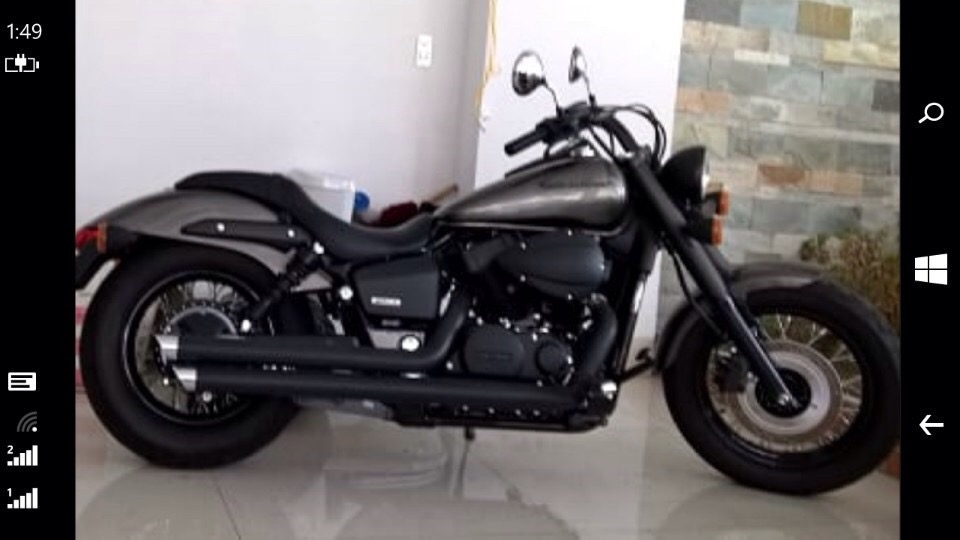 moto honda Shadow Phantom 750