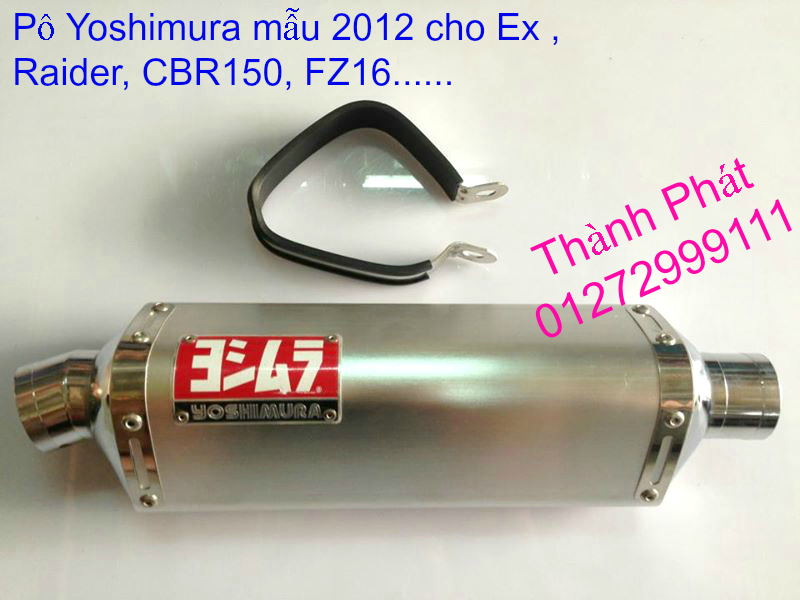 Po do Po kieu Co po 7 khuc AHM Akrapovic Yoshimura SC Project 2 Brother MIVV YYPANG Leov - 13
