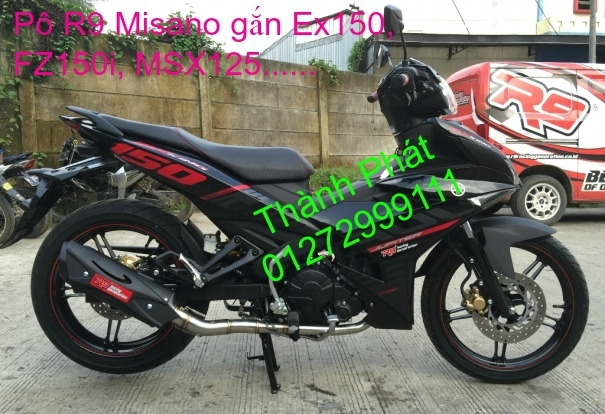 Po do Po kieu Co po 7 khuc AHM Akrapovic Yoshimura SC Project 2 Brother MIVV YYPANG Leov - 15