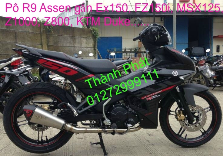 Po do Po kieu Co po 7 khuc AHM Akrapovic Yoshimura SC Project 2 Brother MIVV YYPANG Leov - 19