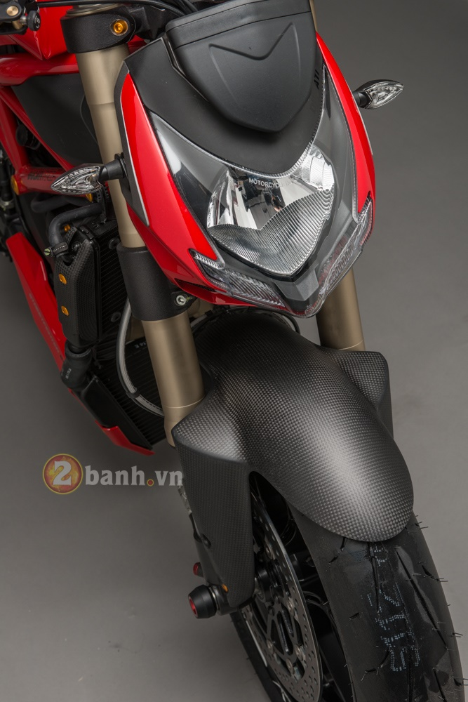 Tuyet pham Ducati Streetfighter 848 do phien ban Lightech