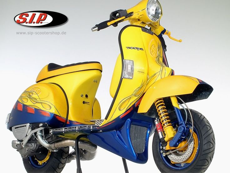 Vespa PX 150 racing stylephong cach moi - 6