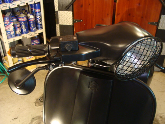 Vespa PX 150 racing stylephong cach moi - 16