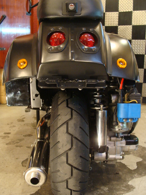 Vespa PX 150 racing stylephong cach moi - 19