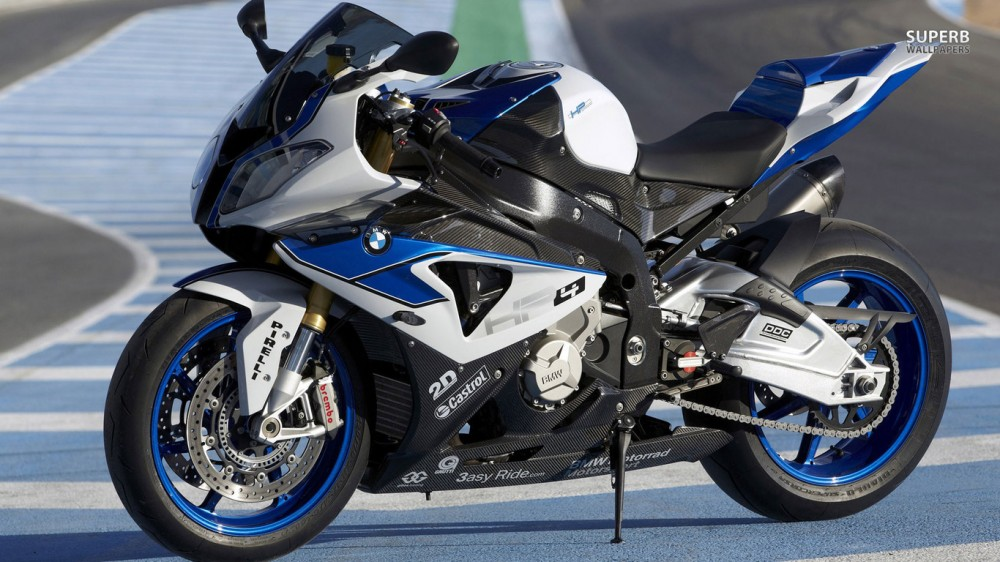 BMW S1000rr dat max speed 320kmh