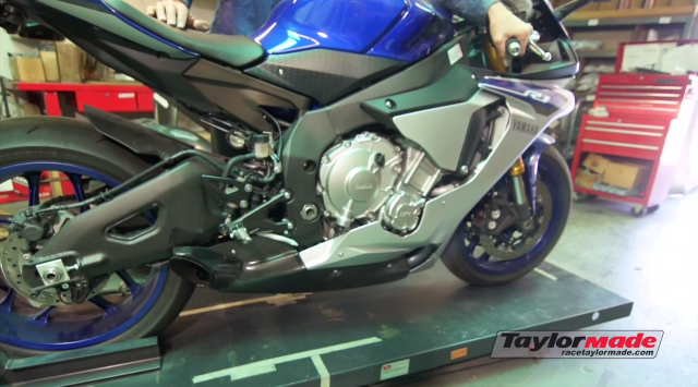 Clip Yamaha R1 2015 do po Taylormade Racing