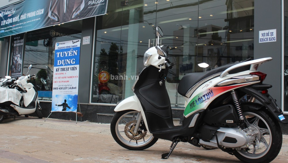 Cung 2banhvn cam nhan ve xe Piaggio Liberty ABS 2015