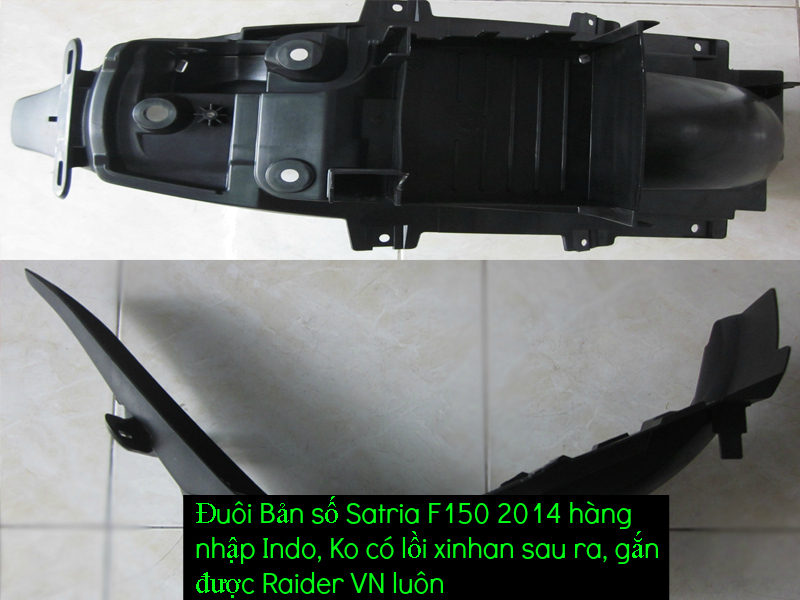 Do choi cho Raider 150 VN Satria F150 tu AZ Up 992015 - 8