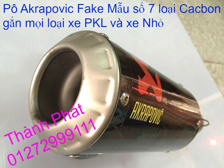 Po do Po kieu Co po 7 khuc AHM Akrapovic Yoshimura SC Project 2 Brother MIVV YYPANG Leov - 50