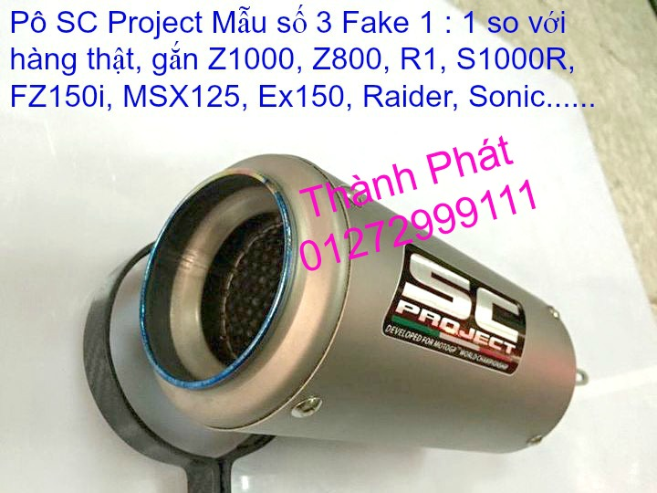 Po do Po kieu Co po 7 khuc AHM Akrapovic Yoshimura SC Project 2 Brother MIVV YYPANG Leov - 3