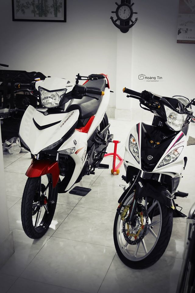 Exciter 150 len do choi chat cua biker Sai Gon - 12