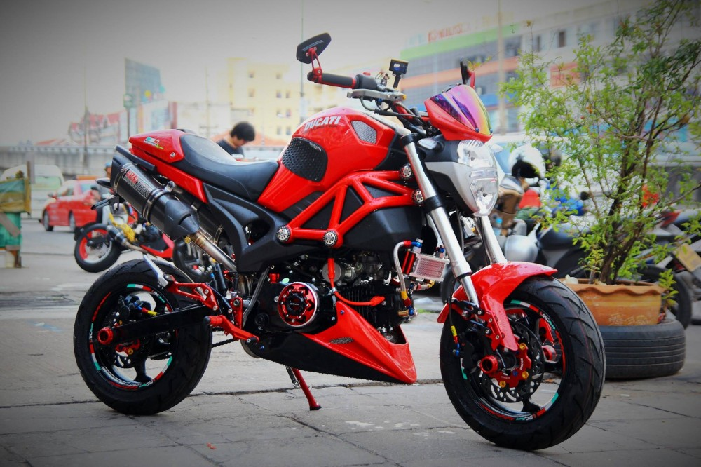 GPX Demon 125 do phong cach chat choi cua dan choi Thai