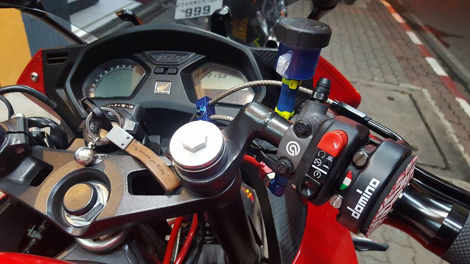 Honda CBR650F do man ma cung dan do choi hang hieu - 4