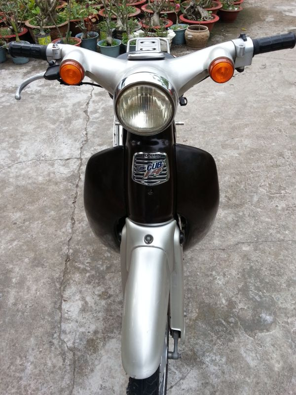 Honda Little Cub 14 doi 2009 khong the dep hon - 2