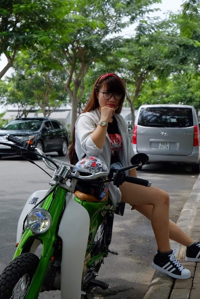 Hot girl cung xe cub Do sai gon - 6
