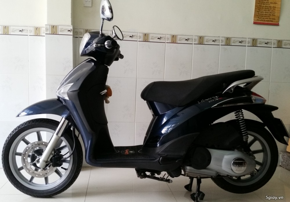 Liberty 125 3V ie Xanh Tiger Odo 9xxx km