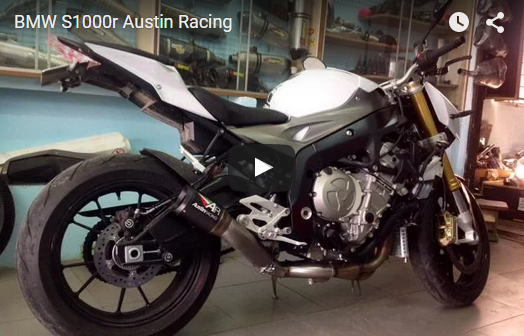 Naked bike BMW S1000r test po Austin Racing kich thich