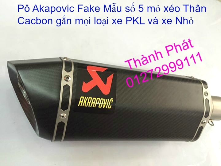 Po do Po kieu Co po 7 khuc AHM Akrapovic Yoshimura SC Project 2 Brother MIVV YYPANG Leov - 32