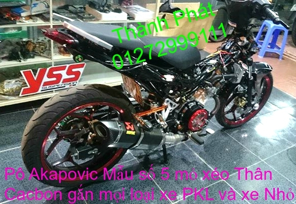 Po do Po kieu Co po 7 khuc AHM Akrapovic Yoshimura SC Project 2 Brother MIVV YYPANG Leov - 38