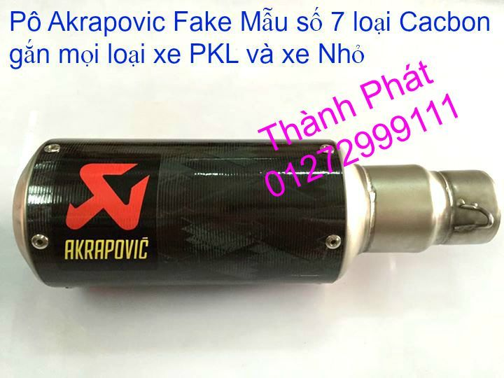 Po do Po kieu Co po 7 khuc AHM Akrapovic Yoshimura SC Project 2 Brother MIVV YYPANG Leov - 49