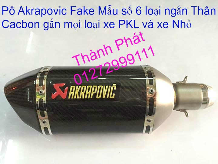Po do Po kieu Co po 7 khuc AHM Akrapovic Yoshimura SC Project 2 Brother MIVV YYPANG Leov - 44